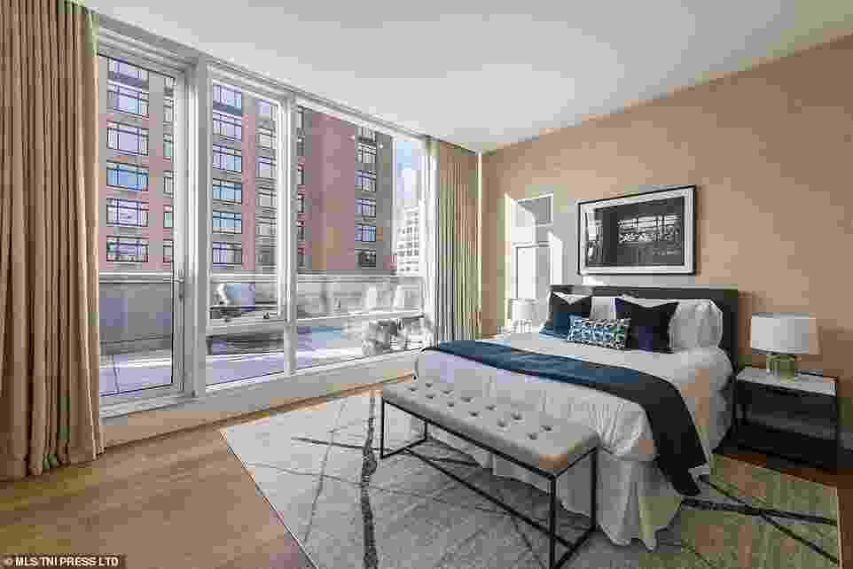 Detalhes do apartamento em Greenwich Village, Nova York - Reprodução/Daily Mail/MLS Rentalls