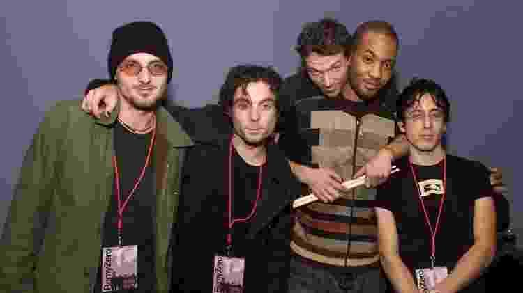 O grupo Remy Zero em foto de 2001, em Los Angeles - Kevin Winter/Getty Image - Kevin Winter/Getty Image