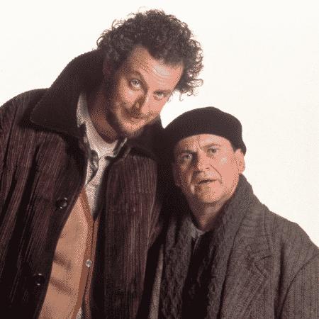 """Daniel Stern e Joe Pesci em cena de """"Esqueceram de Mim"""" (1990) - Reprodução - Reprodução"""