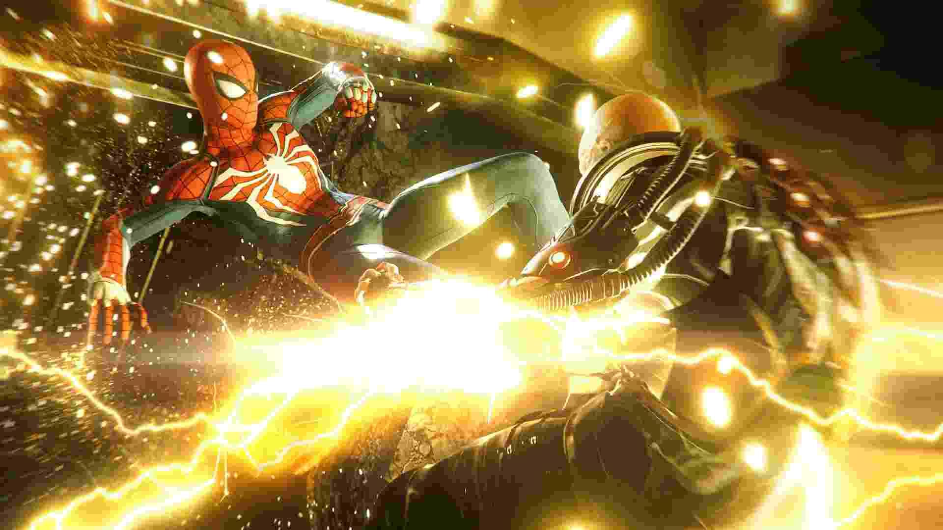 Spider-Man luta contra Electro - Reprodução