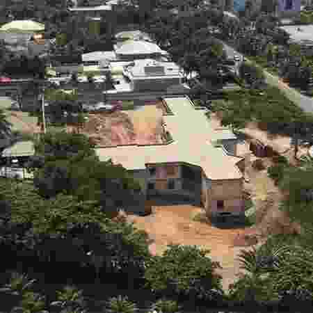 Vista aérea da mansão onde a família Poncio irá morar, no Rio - Reprodução/Instagram - Reprodução/Instagram
