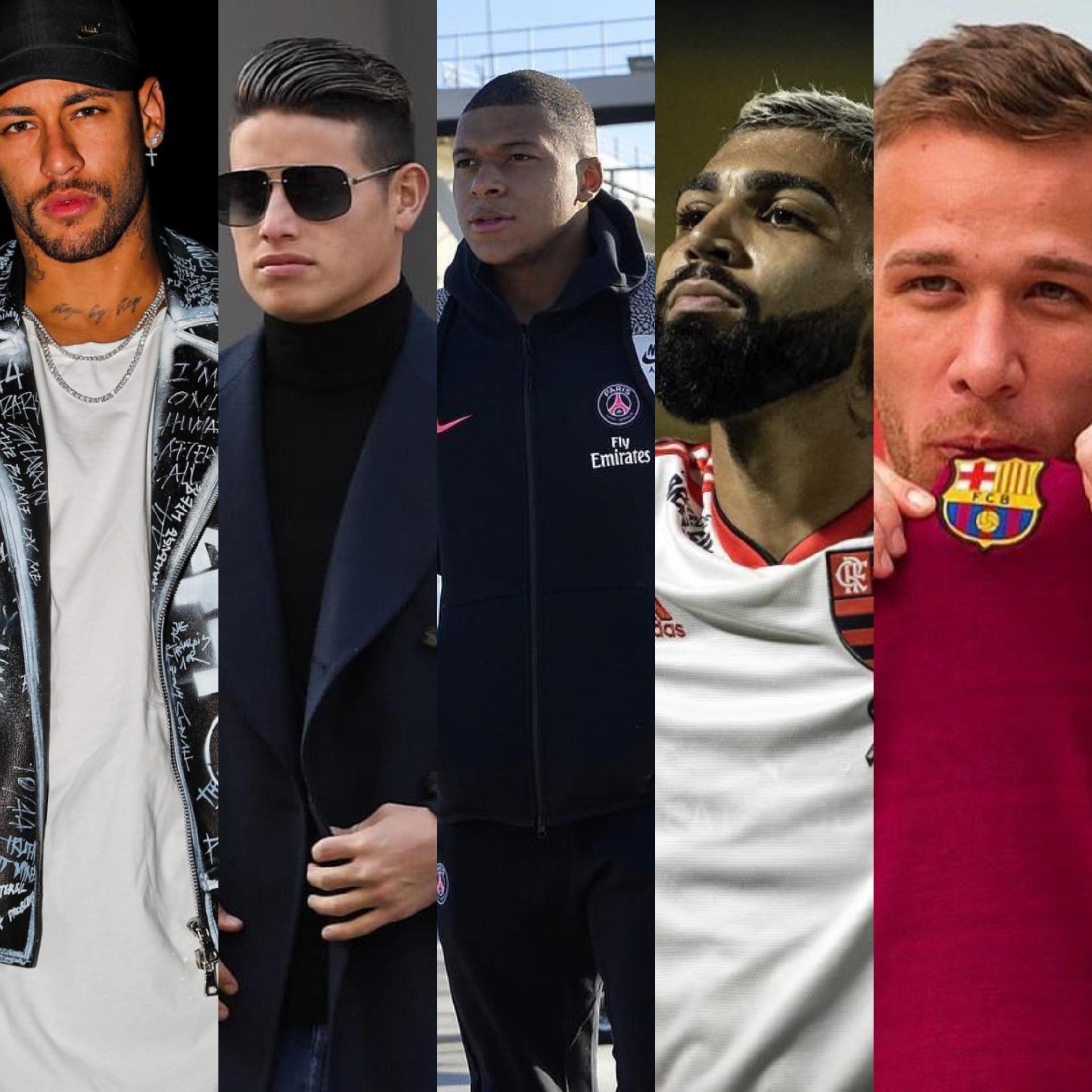 8029eb0d089f5 Quem são os 10 jogadores mais cobiçados do futebol nacional e internacional  - Entretenimento - BOL