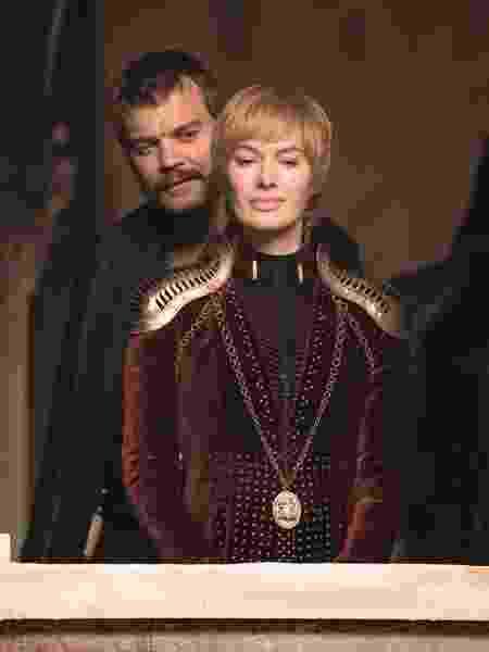 """Cersei (Lena Headey) e Euron (Pilou Asbaek) em cena do quarto episódio da oitava temporada de """"Game of Thrones"""" - Divulgação - Divulgação"""