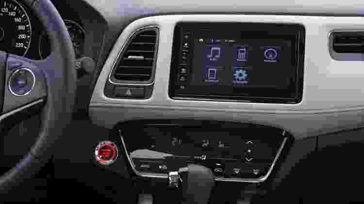 Honda HR-V Touring 2020 central multimídia - Murilo Góes/UOL - Murilo Góes/UOL