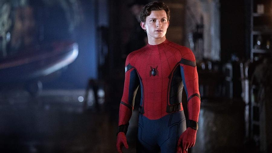 Tom Holland como Homem-Aranha - Reprodução