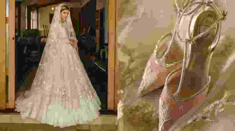 Thássia Naves se casa no religioso e usa sapatos René Caovilla - divulgação/Pedro Fonseca
