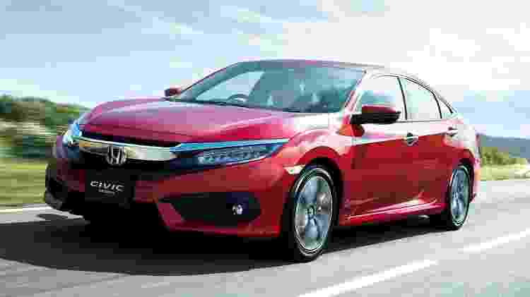 Honda Civic Japão - Divulgação - Divulgação