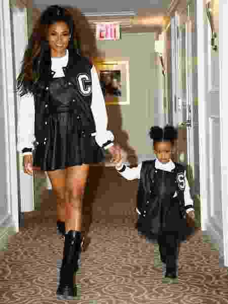 Ciara e a filha Sienna - Reprodução/Instagram