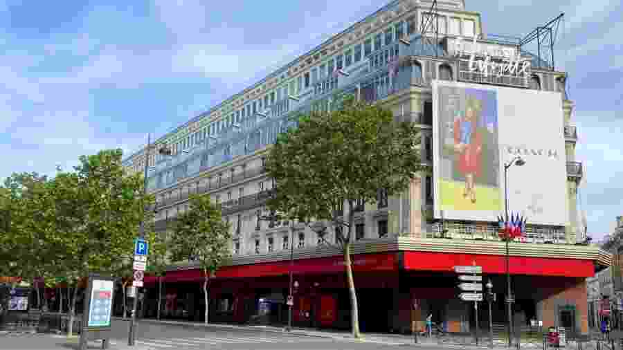A reabertura da tradicional loja da Galeries Lafayette Haussmann, no bairro da Ópera de Paris, quase foi alvo de briga na justiça - Getty Images