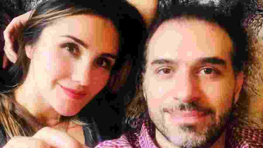 Dulce Maria e marido - Reprodução/Instagram