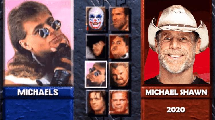 Shawn Michaels - Reprodução/Start - Reprodução/Start