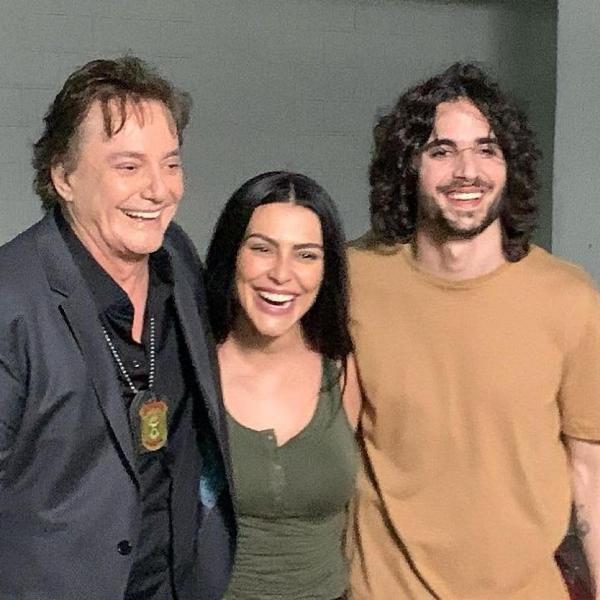 Fábio Jr, Cleo e Fiuk