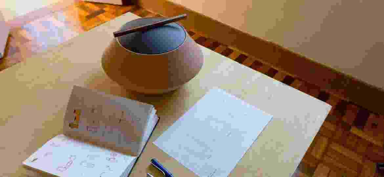 Um dos vasos Amuleto, criação do Estúdio Dentro - Arquivo Pessoal