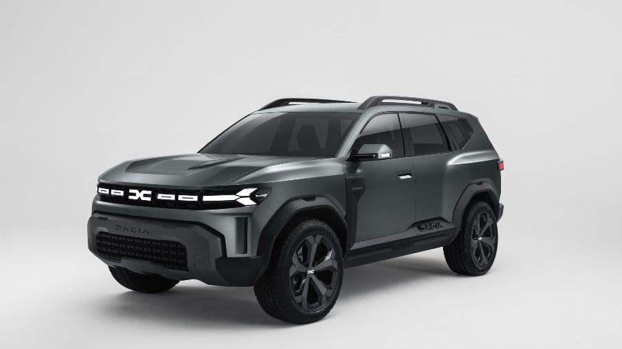 Dacia Bigster Concept  - Divulgação