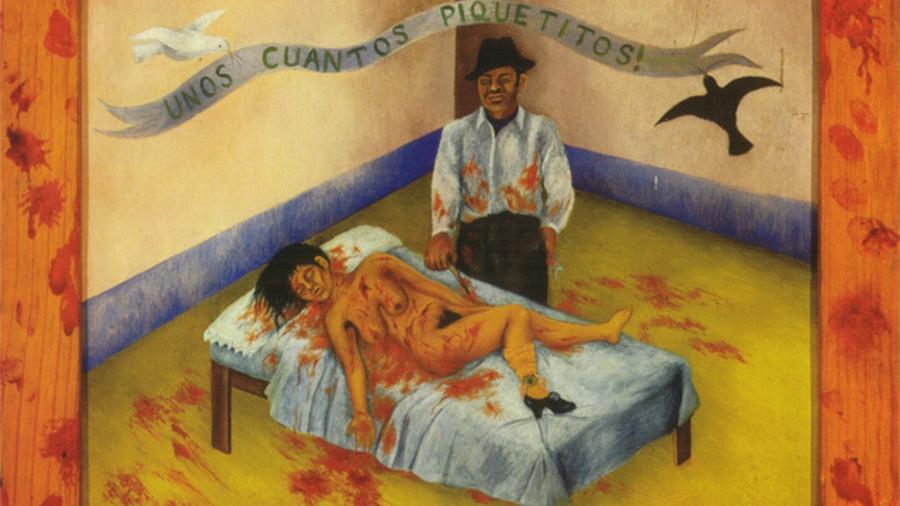 """""""Unos Cuantos Piquetitos"""", de Frida Kahlo - Reprodução"""