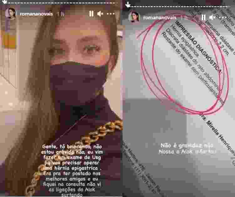 Romana Novais desmente gravidez - Reprodução/Instagram - Reprodução/Instagram