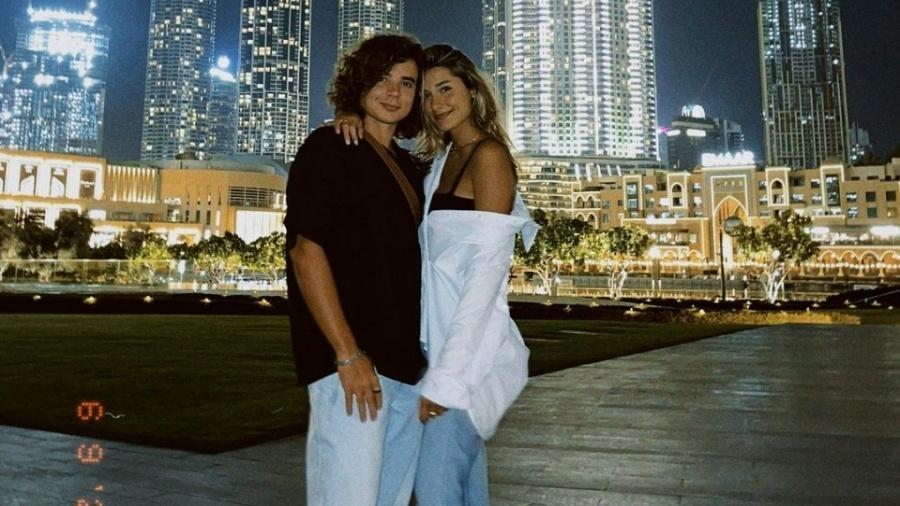 Sasha Meneghel e João Figueiredo em Dubai - Reprodução/Instagram