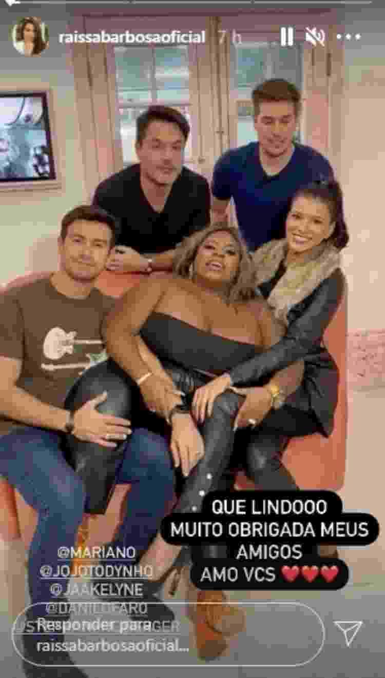 Jojo e ex-peões mandam recado para Raissa Barbosa - Reprodução/Instagram - Reprodução/Instagram