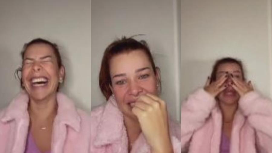 """Fernanda Souza chora ao lembrar de """"Chiquititas"""": """"Tudo me comove"""" - Instagram"""