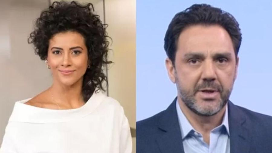 Aline Midlej e Paulo Renato Soares - Divulgação / GloboNews / Reprodução / TV Globo