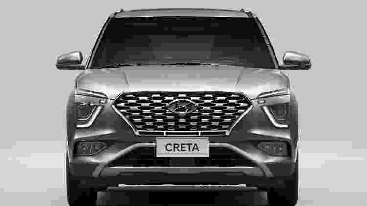Hyundai Creta Platinum 2022 - Divulgação - Divulgação