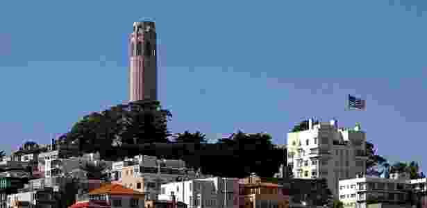 Coit Tower, em San Francisco  - Public Domain Images