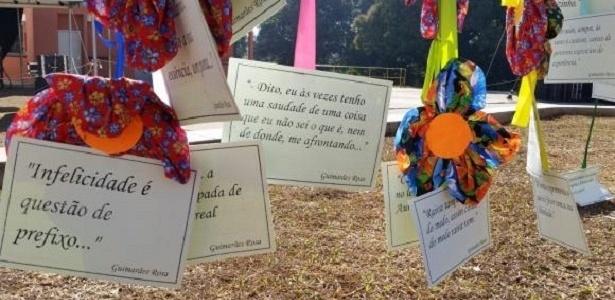 Frases de Guimarães Rosa tomam as ruas de Andrequicé (MG) - Léo Rodrigues/Agência Brasil