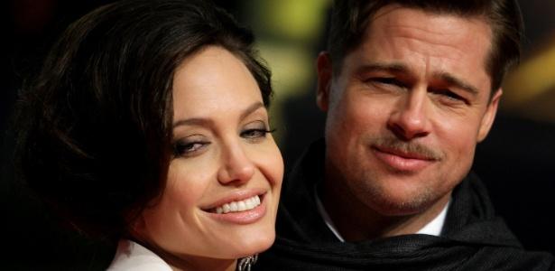 19.jan.2009 - Angelina Jolie e Brad Pitt - Hannibal Hanschke/Reuters
