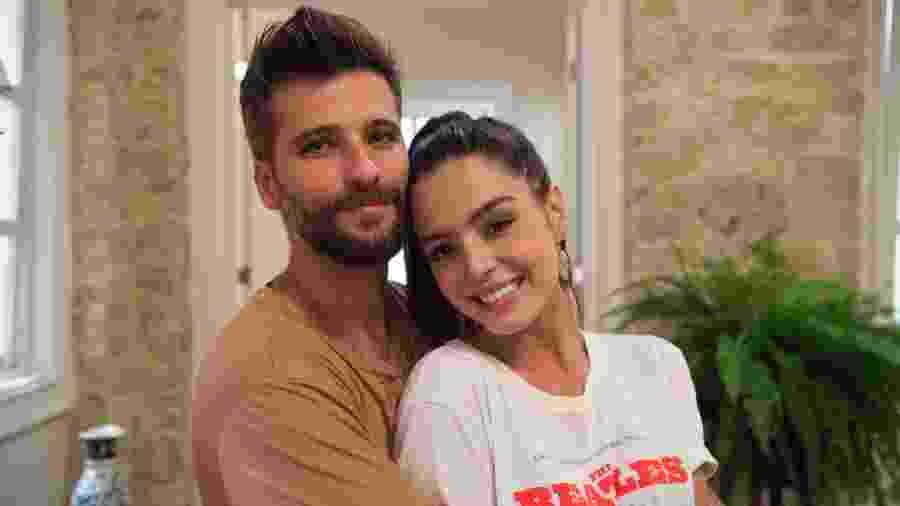 """Milena (Giovanna Lancellotti) e Mario (Bruno Gagliasso) em """"Sol Nascente"""" - Divulgação/TV Globo"""