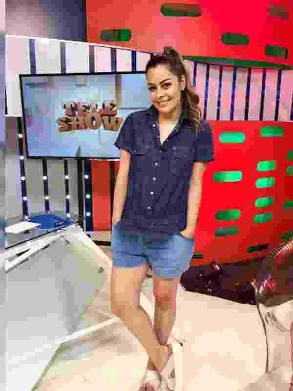 """Larissa Riquelme tem 31 anos e atualmente apresenta o programa """"Teleshow"""", que passa no canal 13 do Paraguai - Reprodução/Instagram/laririquelmeoficial"""