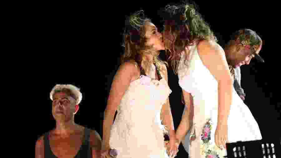 Daniela Mercury e Malu comemoram aniversário de casamento - Alex Yamane/Agfpontes/Divulgação