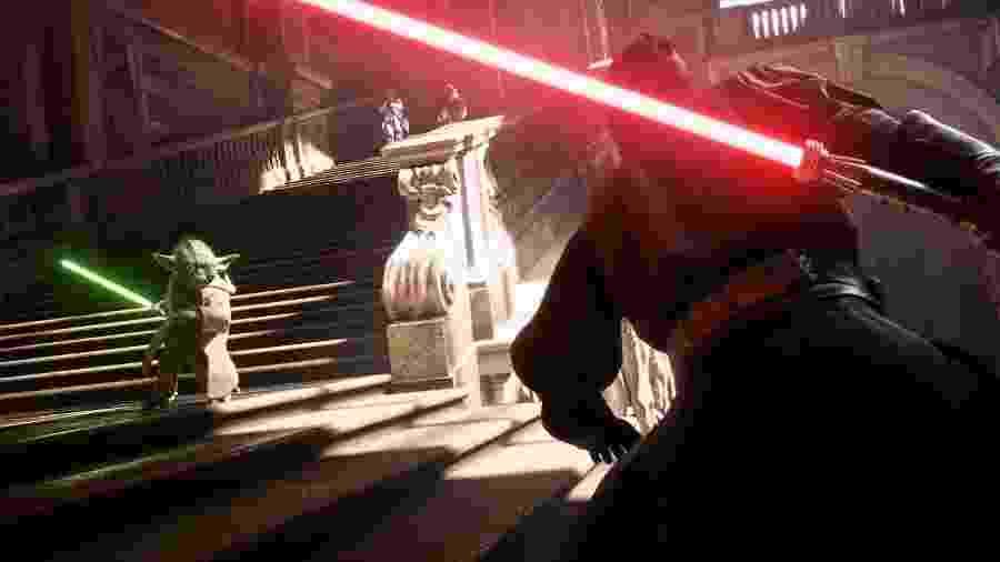 """""""Star Wars: Battlefront II"""" terá personagens de todas as eras da franquia e uma campanha muito mais aprofundada do que no seu antecessor - Reprodução"""