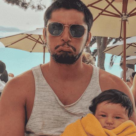 Bruno Gissoni em foto divertida com a filha, Madalena - Reprodução/Instagram/brunogissoni