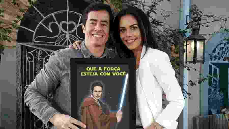"""Felipe Folgosi relembrou passado na Globo em entrevista a Daniela Albuquerque no programa """"Sensacional"""", da RedeTV! - Divulgação/RedeTV!"""