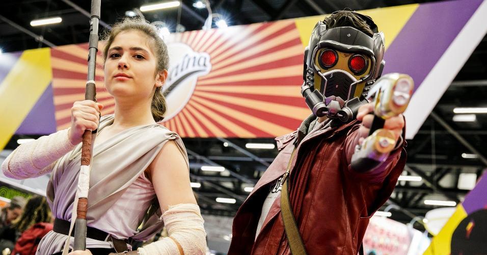 """A Rey de """"Star Wars"""" também compareceu à CCXP"""