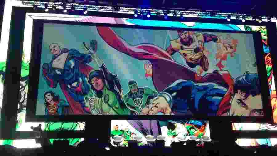 Painel da DC Comics na CCXP - Reprodução