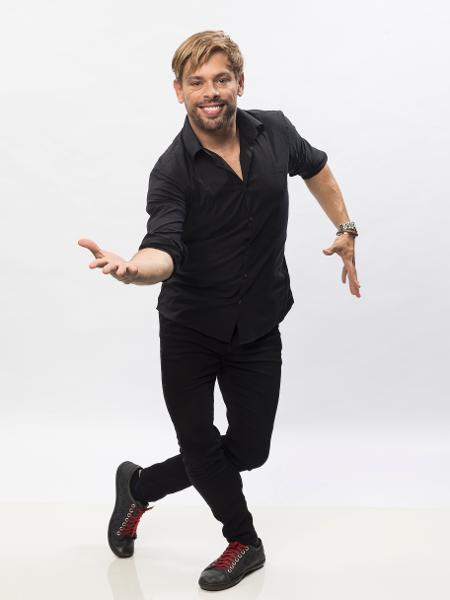 Bruno Chateaubriand foi o primeiro a deixar o reality de danças da Record  - Edu Moraes/Record