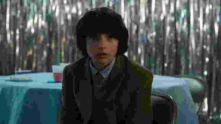 """Finn Wolfhard em cena na série de TV """"Stranger Things"""" - Divulgação - Divulgação"""