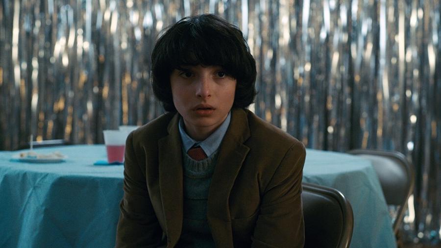 """Finn Wolfhard em cena na série """"Stranger Things"""" - Divulgação"""
