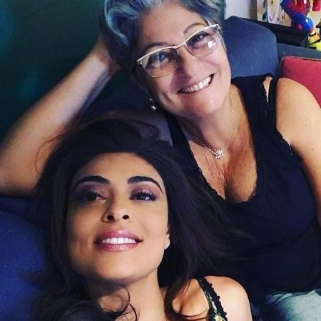 Juliana Paes com a mãe, Regina - Reprodução/Instagram