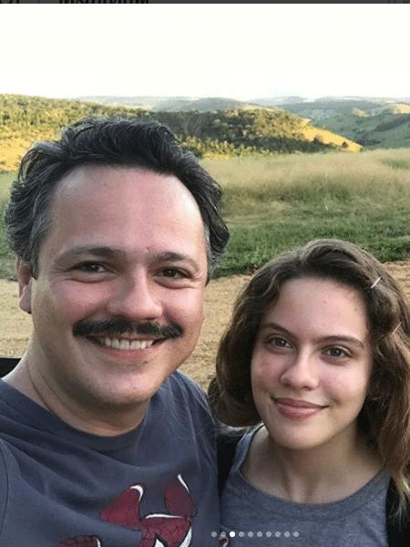 Danton Mello com a filha mais velha, Luísa - Reprodução/Instagram