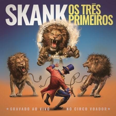 """Capa do novo CD do Skank, """"Os Três Primeiros"""" - Divulgação"""
