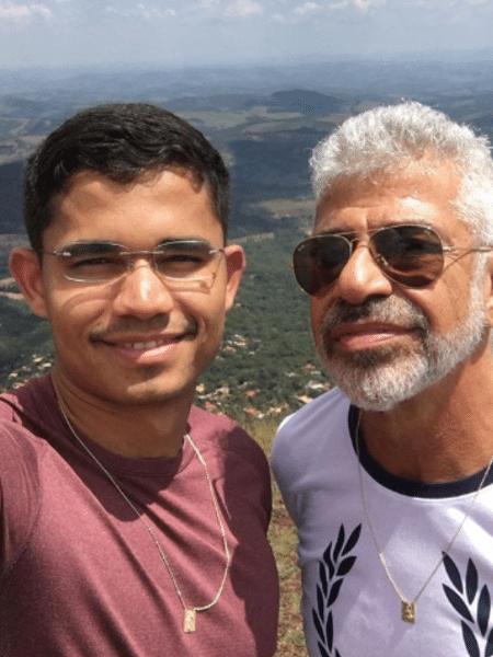 Clebson Teixeira e Lulu Santos - Reprodução/Instagram