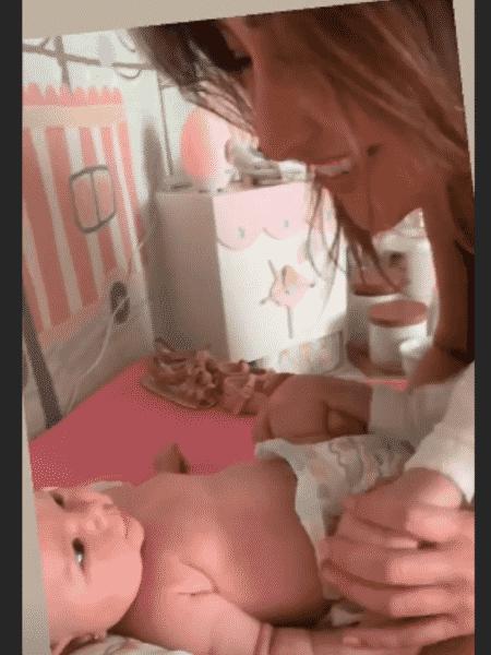 Sabrina Sato com a filha, Zoe - Reprodução/Instagram