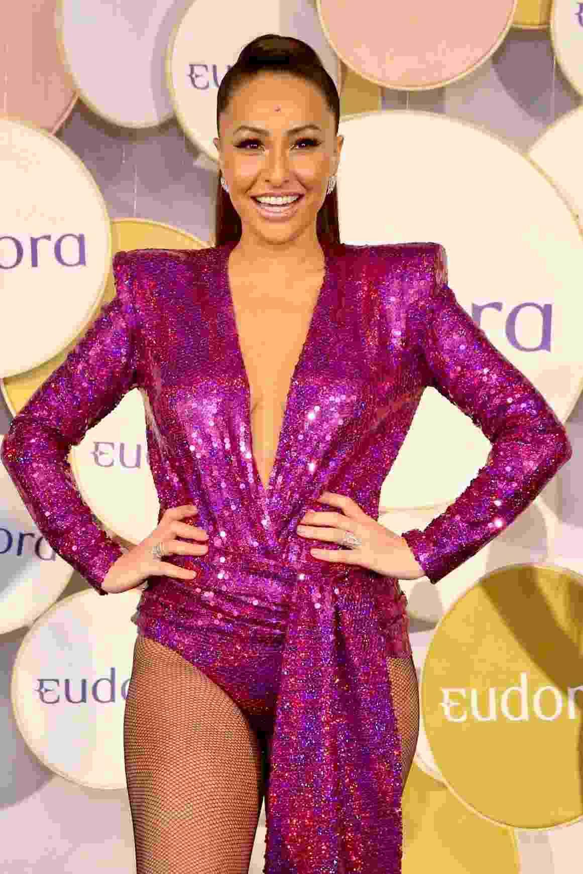 Sabrina volta ao Carnaval após gravidez - Manuela Scarpa/Brazil News
