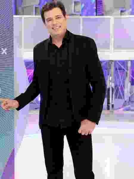"""Celso Portiolli, com o """"Domingo Legal"""", é um dos responsáveis por esses bons números do SBT - Lourival Ribeiro/SBT"""