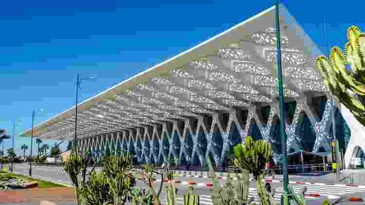 Aeroporto de Marrakech, no Marrocos - KarSol/Getty Images - KarSol/Getty Images