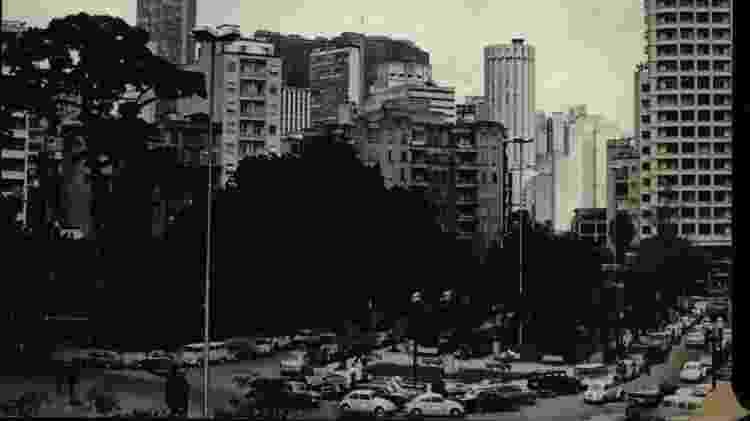Região do Largo do Arouche na década de 1970 - Acervo Folha - Acervo Folha