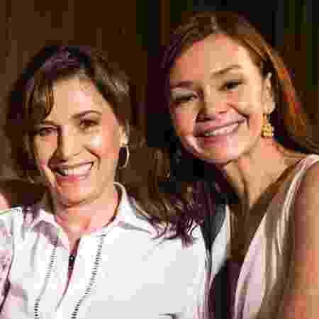 Natalia do Vale e Julia Lemmertz, mãe e filha na novela Em Família, de 2014 - Reprodução/Globo