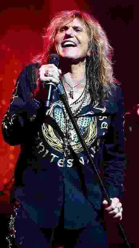 David Coverdale em show do Whitesnake - Divulgação/Facebook